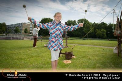 Spelen met touw - Oudenhofmarkt 2014