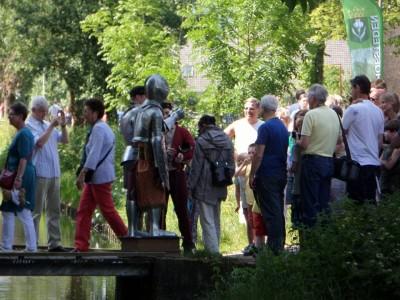 Middeleeuwse ridder Goudse hofstedendagen02