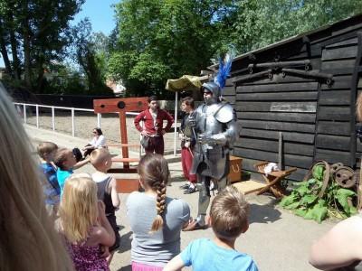 Middeleeuwse ridder Goudse hofstedendagen03