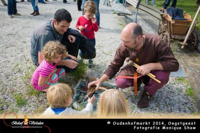 middeleeuwse muziek - Oudenhofmarkt 2014