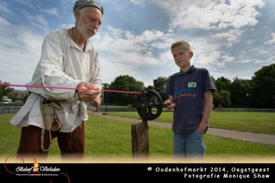 Touw slaan - Oudenhofmarkt 2014
