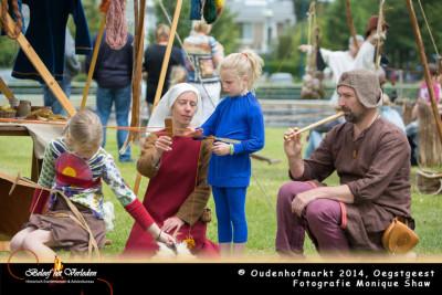 band weven - oudenhofmarkt 2014