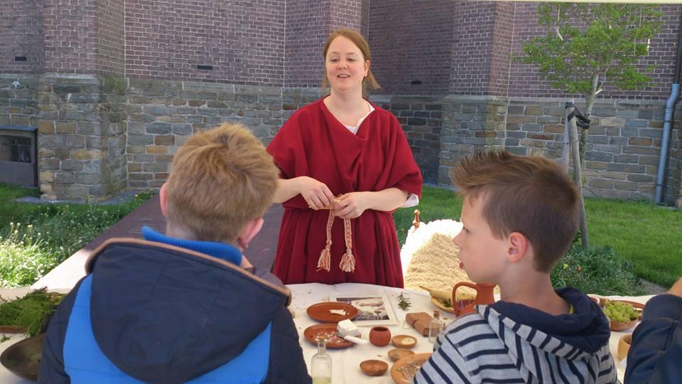 Romeinse proeverij en workshop