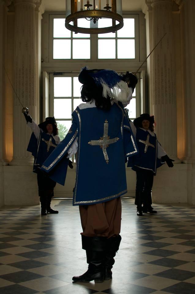 musketiers, le bosquet, maison lafitte