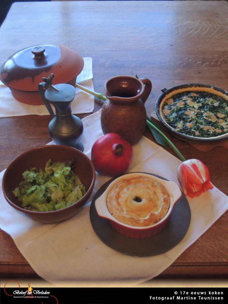 17e eeuws koken 01 met tag