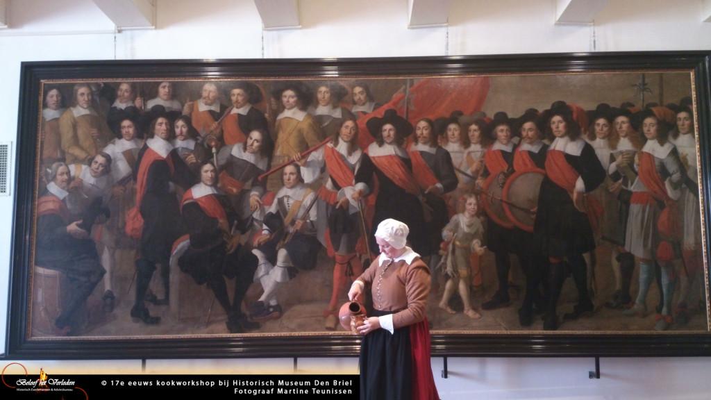 17e eeuwse kookworkshop 04
