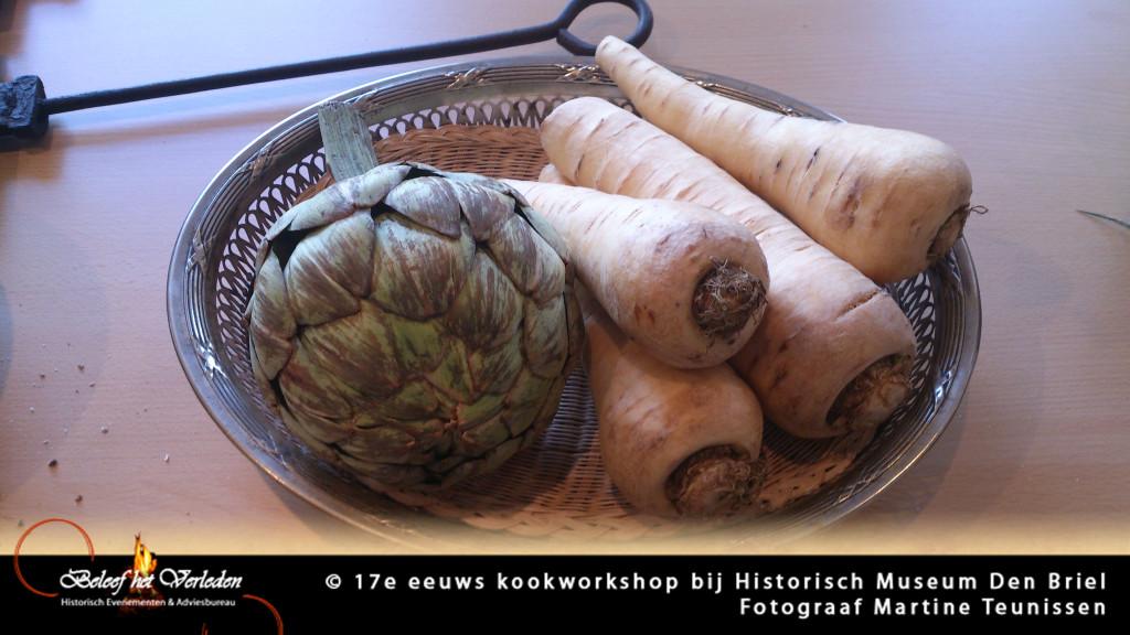 17e eeuwse kookworkshop 07