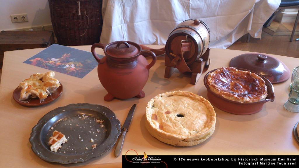 17e eeuwse kookworkshop 09