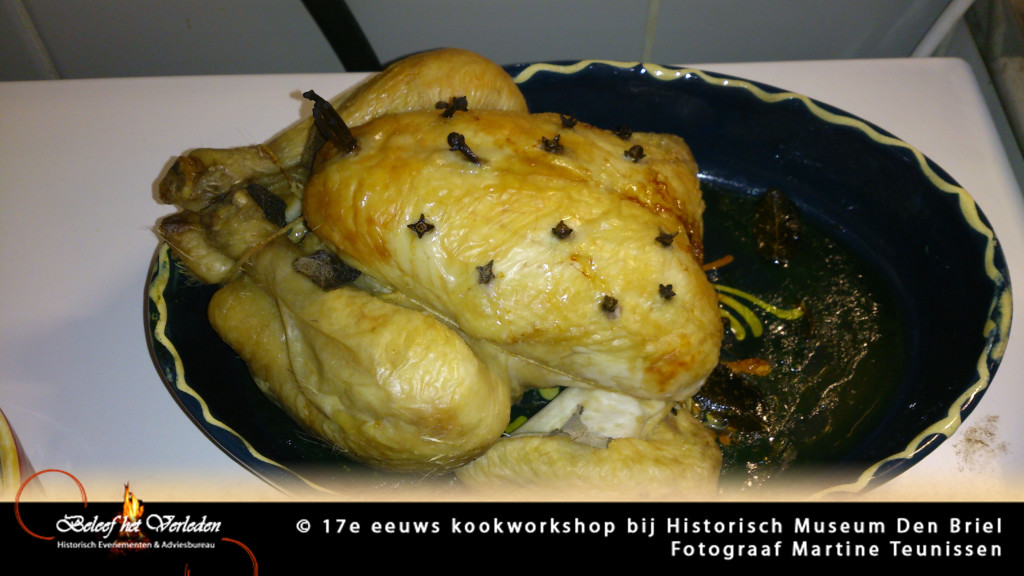17e eeuwse kookworkshop 13