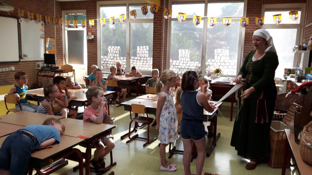 Middeleeuwer in de klas