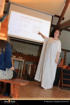 Lezing museum jeugduniversiteit – Romeinse kleding