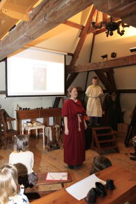 Museum Jeugduniversiteit, Museum Meermanno - Romeinse kleding