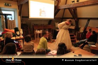 Lezing museum jeugduniversiteit – 18e eeuwse kleding