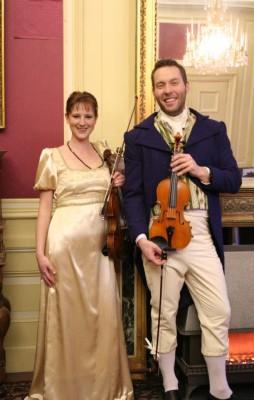 BHV - bal en diner Keetje Hodshon - violisten