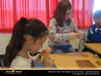 BHV in de klas - prehistorie 9