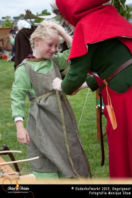 Oudenhofmarkt - middeleeuwse kleding