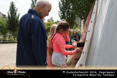 spinnen - Oudenhofmarkt 2014