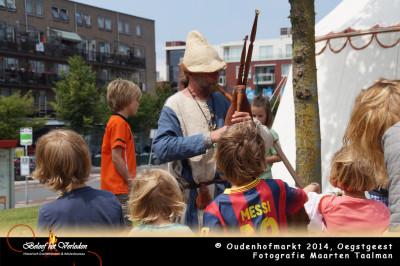 middeleeuwes muziek - Oudenhofmarkt 2014