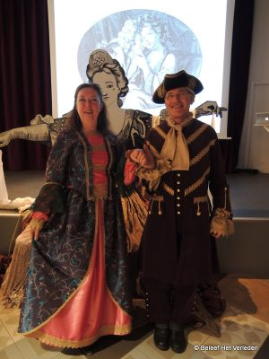 Guests in costumes of the Utrechts Archives