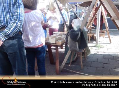 middeleeuwse beenbewerker