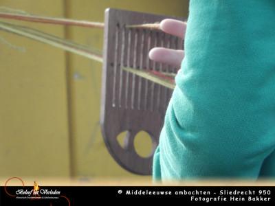 middeleeuws band weven