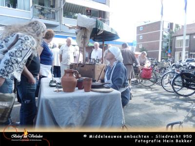 middeleeuws tin gieten