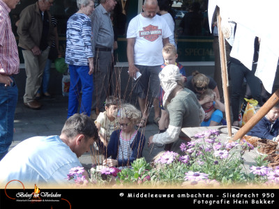 middeleeuwen manden maken