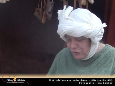 middeleeuwse schoenmaker