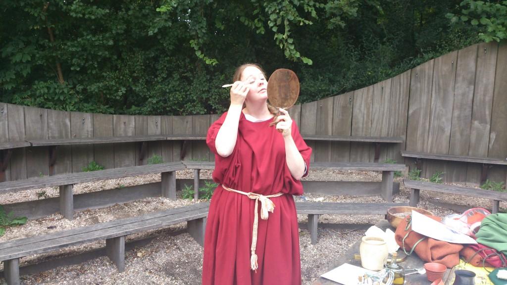 Romeinse make-up - Beleef Het Verleden in de klas