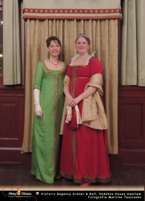 Gasten met Juffrouw Hodshon