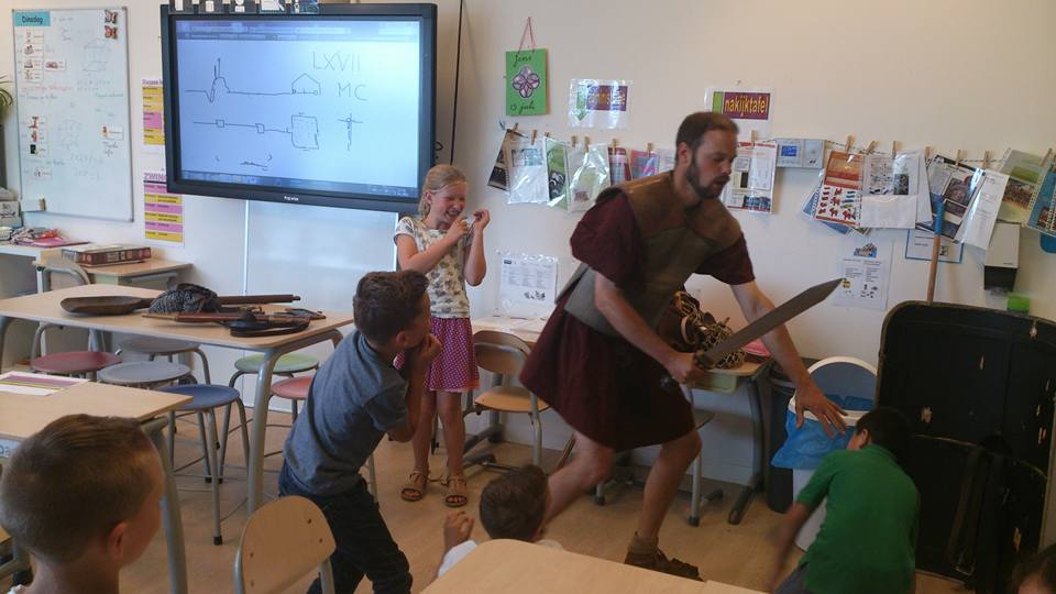 IKC Het Festival Zwolle - Romeinen in de klas 10