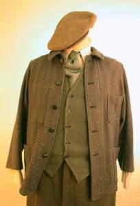 LCC, historische kostuums, 1930