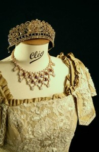 LCC historische kostuums, princesse russe c 1910s