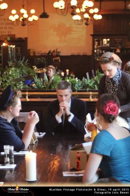 Leiden Vintage Fietstocht en diner 01
