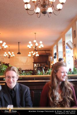 Leiden Vintage Fietstocht en diner 06