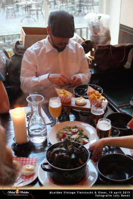 Leiden Vintage Fietstocht en diner 08