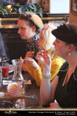 Leiden Vintage Fietstocht en diner 10