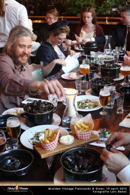Leiden Vintage Fietstocht en diner 11