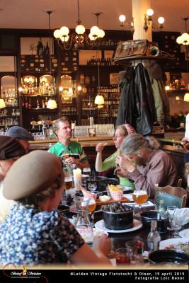 Leiden Vintage Fietstocht en diner 14