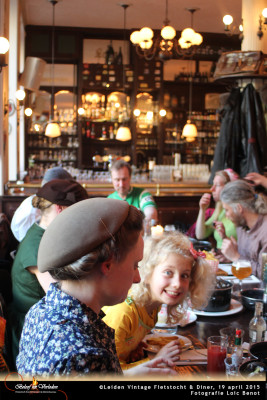 Leiden Vintage Fietstocht en diner 15