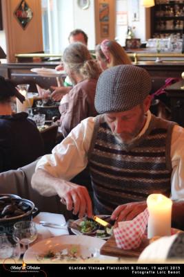 Leiden Vintage Fietstocht en diner 17