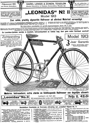 Leonidas fiets 1913 nr 2