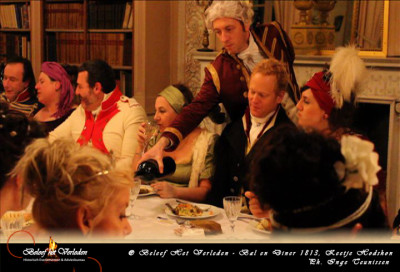 Bal en diner Hodshon Huis5