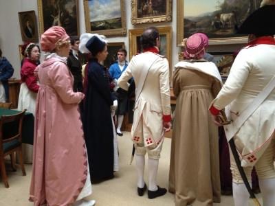 beleef het verleden - bal en diner keetje hodshon - teylers museum