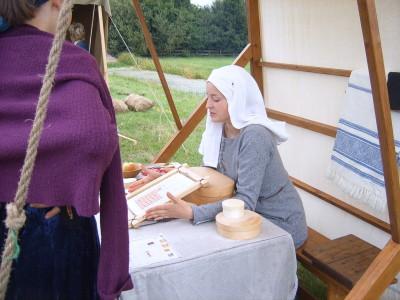 middeleeuws borduren