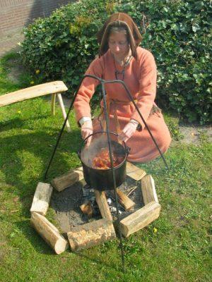 middeleeuws koken