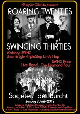 poster Roaring Twenties & Swinging Thirties