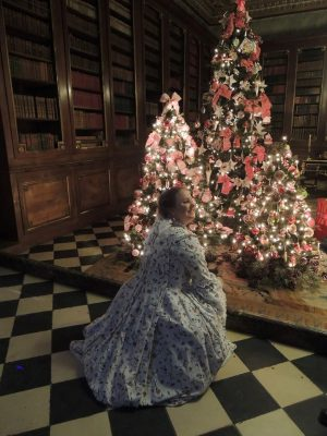 Robe à la Francaise - kerst